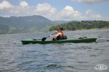 Kayak on Lake Arenal